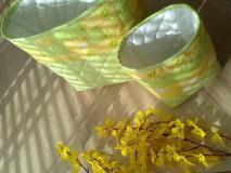 Košíky - Košíky..dotyk jarného slnka :) - 6563198_