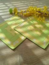 Podšálky.. jarné slnko :)