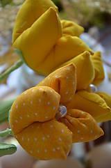 Dekorácie - Tulipán žltý mix - 6562449_