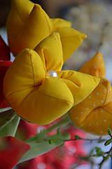 Dekorácie - Tulipán žltý mix - 6562453_