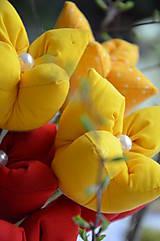 Dekorácie - Tulipán žltý mix - 6562454_
