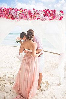 Šaty - Korzetové spoločenské šaty rôzne farby - 6564499_
