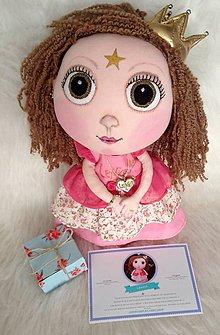 Hračky - princeznička Lenka - 6565509_