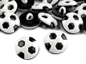 Galantéria - Gombík futbalová lopta - 6562974_