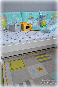 Úžitkový textil - Mantinel-vreckár 50x200cm - 6569435_