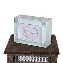 Rámiky - Pastelová kolekcia - drevený fotoalbum MINT - 6566472_