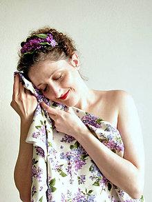 Ozdoby do vlasov - Orgovánová čelenka - 6568211_