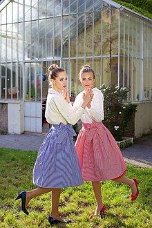 Sukne - Kanafasová sukně - 6566625_