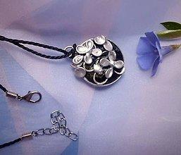 Náhrdelníky - pocínovaná lúka - náhrdelník - 6569365_