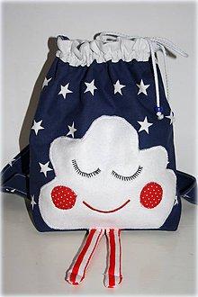 Detské tašky - Ruksak, batôžtek mráčik, 35X30 - 6567810_