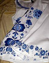 Topy - Modranská - maľované tričko - 6569006_