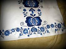 Topy - Modranská - maľované tričko - 6569007_