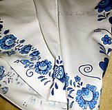 Topy - Modranská - maľované tričko - 6569023_