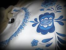 Topy - Modranská - maľované tričko - 6569037_
