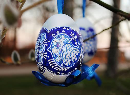 Husacie vajíčka /vzor vtáčik