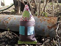 "Hračky - Domček z valala ""hračka ku gombíkovej bábike"" - 6570594_"