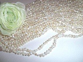 Minerály - perly prírodné 4-5mm - 6571176_