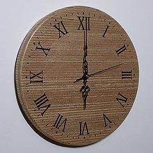 """Hodiny - Drevené nástenné hodiny """"eRky"""" Okou - 6572311_"""