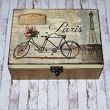Krabičky - Bicykel v Paríži - 6570811_