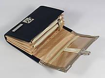 Peňaženky - Purse Middle no.630 - 6570149_