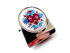 Magnetky - Magnetka so štipcom na odkazy Zdenko 1 - 6572196_