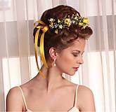 Ozdoby do vlasov - Venček letnej lúky, typ 1a. - 6575352_