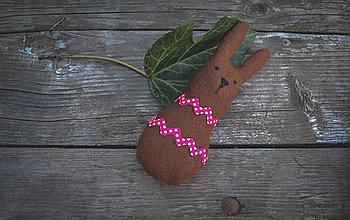 Dekorácie - Zajac Rudko - 6575270_