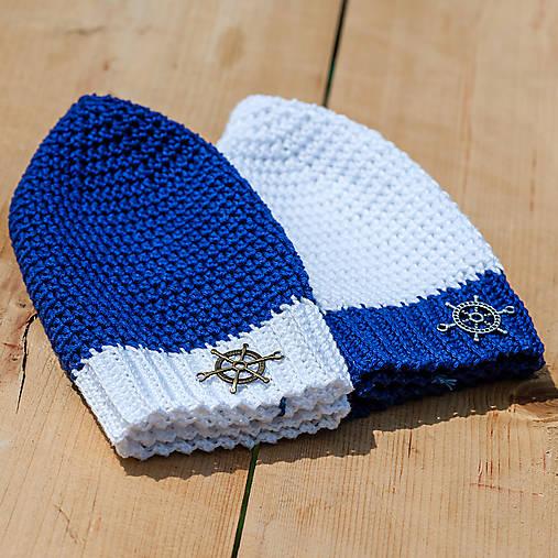 d1e4fbe6e Námornícke čiapky / LeonaS - SAShE.sk - Handmade Detské čiapky