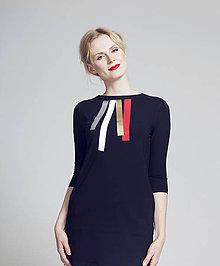 Šaty - FNDLK úpletové šaty 85 RVL - 6574749_