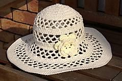 Čiapky - Bavlnený klobúk - 6576301_