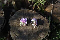 Náušnice - výpredaj z 13 eur Kvetinové klipsne do uší