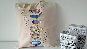 Nákupné tašky - Eko taška Rybičky - 6577224_