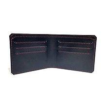 Tašky - Elegantná pánska peňaženka v tenkom prevedení - 6581388_