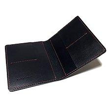 Tašky - Pánska kožená peňaženka - karty + bankovky - 6581445_