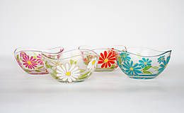 Nádoby - Jarné mištičky (4 farby) - 6579948_