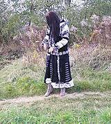 Kabáty - Ambra-čierno biela -kabát, sukňa - 6580915_
