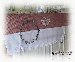Úžitkový textil - Roletka...lněná kostička š.150xd.60cm - 6580239_