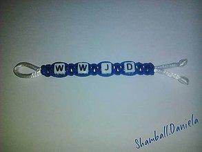 Kľúčenky - Klúčenka WWJD - 6579211_