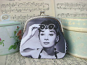Kabelky - Kabelečka s Audrey Hepburn - 6580459_