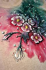 Tričká - kvetinkové tričko - 6584340_