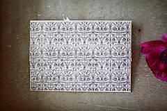 Papiernictvo - Scrapbook svadobná obálka na peniaze - 6582981_