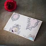 Papiernictvo - Ružová scrapbook obálka na peniaze - 6582999_