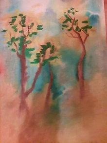 Obrazy - Tri stromy na lúke... - 6583950_