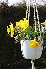 - macrame záves na kvetináč  - 6582163_