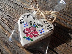 Darčeky pre svadobčanov - svadobné magnetky/folklór 2 - 6582193_