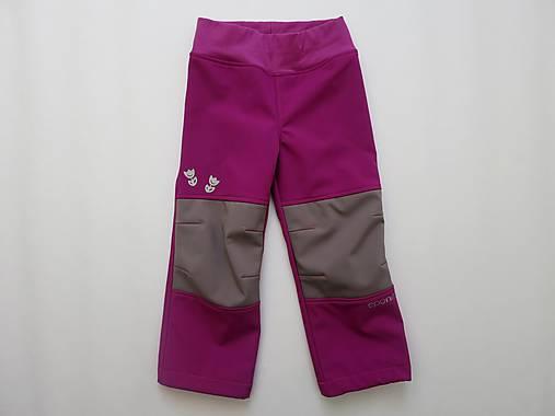 be9fdd699 Softky ružové so sivými kolenami - veľkosť 104/110 / eponita - SAShE ...