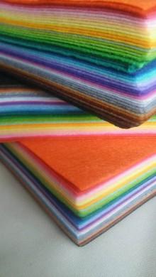 Textil - FILC štvorec 15x15cm -40 ks - 6586922_