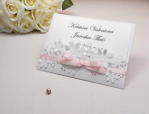 9f187adcce63 Svadobné oznámenie Floral   Anije - SAShE.sk - Handmade Papiernictvo