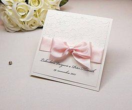 Papiernictvo - Svadobné oznámenie Blossom love - 6584851_