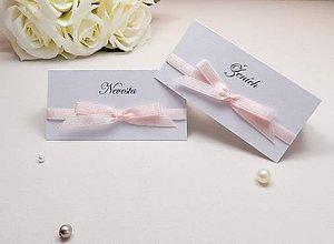 Papiernictvo - Svadobné menovky Sweet - 6584946_